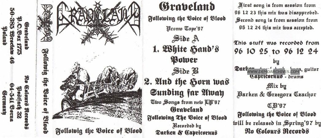 Graveland Creed Of Iron - Prawo Stali